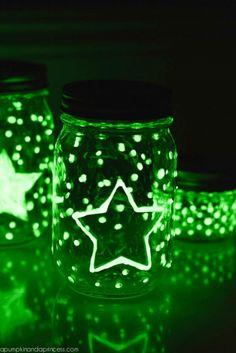 Homemade Glow in the dark Slime Recipe - A Pumpkin And A Princess