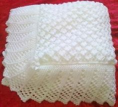Crochet baby blanket 444730531933925706 - Stunning New Hand Knitted Baby Shawl Blanket 36 x 36 Ins Source by gpierreleandre Baby Knitting Patterns, Shawl Patterns, Crochet Blanket Patterns, Baby Patterns, Free Knitting, Baby Afghans, Baby Afghan Crochet, Crochet Owls, Crochet Animals