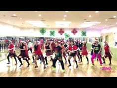Zumba L All I Want For Christmas Is You L Mellisa L Korea Youtube Zumba Musique Noel