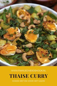 Thai Recipes, Asian Recipes, Tasty, Yummy Food, India Food, Indian Curry, Snap Peas, Chinese Food, Potato Salad