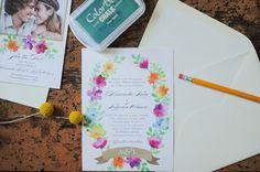 DIY Polka Dot Envelope Liner   Wedding Paper Divas