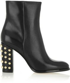 MICHAEL Michael Kors Linden studded leather ankle boots on shopstyle.com
