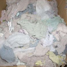 Make paper from dryer lint!! My friend has done this in the past. She would dry clothes that were same color to make a that color paper. The ideas are endless.