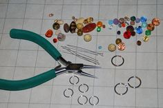 How to make your own beaded stitch markers