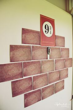 How to create a Harry Potter Party! Platform 9 3/4 door. Release of Harry Potter and the Cursed Child. http://www.thissplendidshambles.com/2016/08/cursed-child-release-party/
