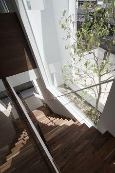 Enlighting the stairscase