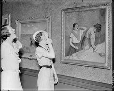 #TBT: Art Institute employees find their #museumdoppelgangers, 1934.  https://twitter.com/artinstitutechi/status/598934273085812738 /via @fa