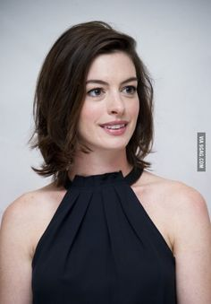 Anne Hathaway and her HAIR ♡♡