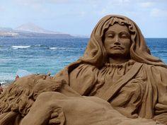 Semana Santa 2010.Playa de Las Canteras.Las Palmas de Gran Canaria