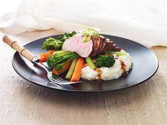 LiveLighter - Hoisin pork with cauliflower mash 3-2-1
