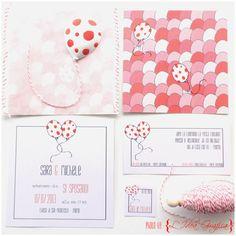 L'Idea Grafica - Il blog: Balloons wedding stationery