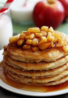 Apple Cinnamon Pancake -  a classic breakfast to kickstart the day.