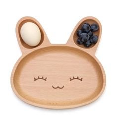 Rabbit Wooden Plate