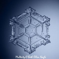 macrophotography of snowflakes | Snowflakes snowflake star snowflake hexagon micro by Multeity