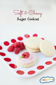 These easy to make Soft and Chewy Sugar Cookies (no refrigeration required), will change the way you think about baking sugar cookies. The dough comes together quickly, and bakes into a cookie with a crisp outer layer and soft, chewy center.