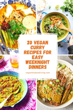 Who doesn't love a weeknight curry? These vegan curry recipes will give you some fresh inspiration for your favourite night of the week, drawing recipes from India, Thailand, Japan and even the Caribbean.