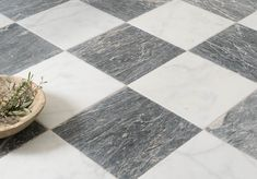 Parisian Chequer Marble, stylish and elegant. Hall Bathroom, Bathroom Flooring, Classic Floors, Flooring, Checkered Floors, Home Decor, Reclaimed Stone, Office Remodel, Marble Tiles