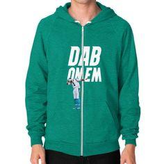 DAP On Em Zip Hoodie (on man) Shirt