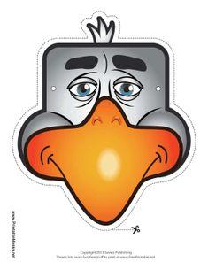 Eagle Mask Printable Mask, free to download and print