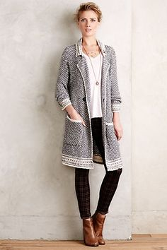 Montecito Double Breasted Cardigan #anthropologie