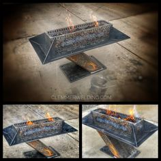 Welding and Fabrication in Grand Junction, CO Rim Fire Pit, Metal Fire Pit, Fire Pits, Welded Furniture, Industrial Design Furniture, Welding Shop, Diy Welding, Welding Art Projects, Metal Art Projects