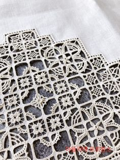 Embroidery stitches on machine French Knot Stitch Cross Stitch – Embroidery Desing Ideas Blackwork Embroidery, Lace Embroidery, Cross Stitch Embroidery, Embroidery Patterns, Cross Stitch Patterns, Lace Patterns, Doll Patterns, French Knot Stitch, Lace Art
