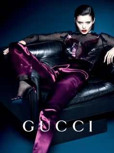 Abbey Lee Kershaw by Mert Alas & Marcus Piggott for Gucci Campaign FW 2013-2014