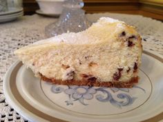 "Cannoli Cheesecake recipe - ""...it tastes just like the cannoli filling I know and love"""
