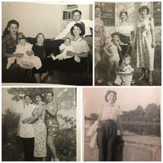 New Blog Post: A Peak Into My Vintage Collection: Adopted Vintage Photos (1930s-1950s)