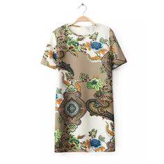 Floral Print Dress. #taste