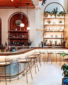 Bar Design Guide on Restaurant Scampi . New York, United States . Restaurant Design, Decoration Restaurant, Architecture Restaurant, Restaurant New York, Restaurant Interiors, Italian Restaurant Decor, Restaurant Counter, Cafe Interiors, Restaurant Seating