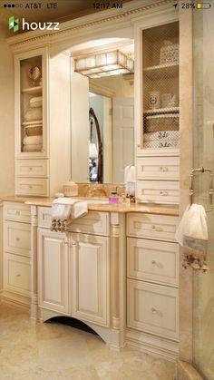 Master Bathroom Cabinet Doors