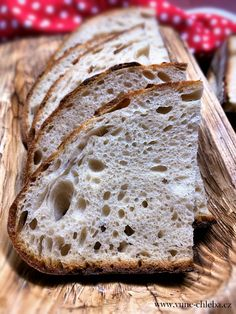Chlieb Slovak Recipes, Our Daily Bread, Ciabatta, Ham, Bakery, Baguette, Cooking, Food, Kitchen