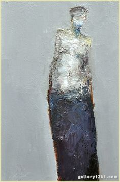 "Dan McCaw | ""Vulnerable"" | Oil, 24 x 16"""