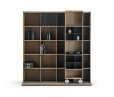 Literatura Light by Punt Mobles | Library shelving systems