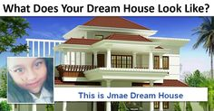 What Does Your Dream House Look Like? Dreaming Of You, Mansions, House Styles, Inspiration, Home Decor, Certificate, Basketball, Craft, Places