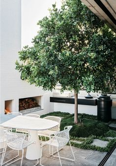 Does your outdoor area get neglected during the colder winter months Be inspired by this gallery of 10 winter ready outdoor spaces to make some quick and easy adjustments. Outdoor Areas, Outdoor Rooms, Outdoor Living, Indoor Outdoor, Small Outdoor Spaces, Outdoor Fire, Landscape Design, Garden Design, Gazebos