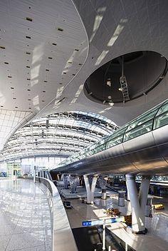Incheon International airport, South Korea, Asia