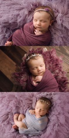 Newborn girl in shades of purple. Jessica Lacey Photography… Newborn girl in shades of purple. Newborn Baby Photography, Newborn Photographer, Newborn Pictures, Newborn Pics, Maternity Pictures, Baby Pictures, Baby Girl Photos, Baby Poses, Photographing Babies
