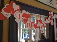 playing card valentine garland project - via opt