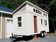 tiny house, tiny house on wheels, Alesk Cottage