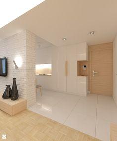 jasno i przestrzennie... - Hol / przedpokój, styl skandynawski - zdjęcie od Art Studio Pracownia Architektury i Wnetrz