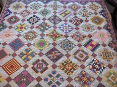 nearly insane quilt | ... name Pennsylvania Plenty. My quilt top was completed sometime in 2003