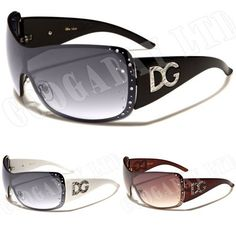 D.G Womens Ladies Designer Diamante Celebrity Fashion Sunglasses DG 974 New