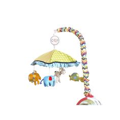 CoCaLo Baby Brooklyn Musical Mobile, Multicolor