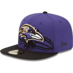 Baltimore Ravens Over Flock NFL New Era Fitted Hat New Era.  35.97 163d8faa5