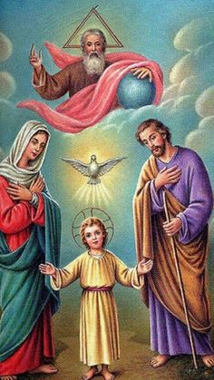 Jesus And Mary Pictures, Catholic Pictures, Pictures Of Jesus Christ, Religious Images, Religious Art, Christus Pantokrator, Jesus Christ Painting, Jesus Mary And Joseph, Jesus Christus