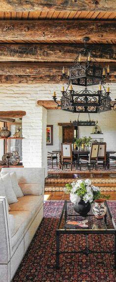 Spanish style homes – Mediterranean Home Decor Spanish Style Homes, Spanish House, Spanish Style Decor, Spanish Colonial Decor, Spanish Style Interiors, Spanish Revival Home, Tuscan Style Homes, Colonial Kitchen, Spanish Design