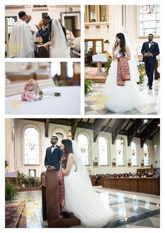 Anu and Anish's Catholic Wedding Ceremony { South Indian Wedding in Chicago, IL} Lifestyle Photography, Wedding Photography, Catholic Wedding, Wedding Ceremony, Studios, Chicago, Indian, Portrait, Wedding Dresses