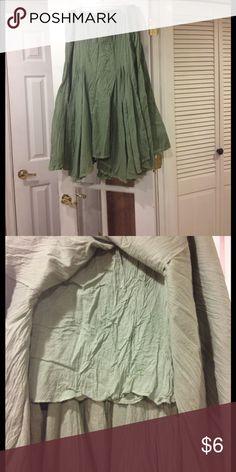 XL (16-18) Bila skirt good condition Bila XL (16-18) skirt  with elastic waist good Bila Skirts